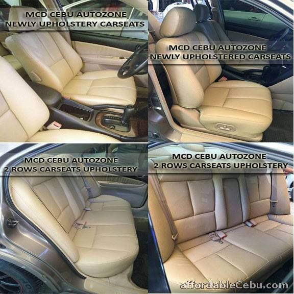 5th picture of AUTO UPHOLSTERY CEBU*=*PERMANENT CARSEATS UPHOLSTERY-=-LAMINATED DASHBOARD & DOOR SIDINGS-=-CENTER CONSOLE-=-RECEILING--RECARPET===STEERING Looking For in Cebu, Philippines