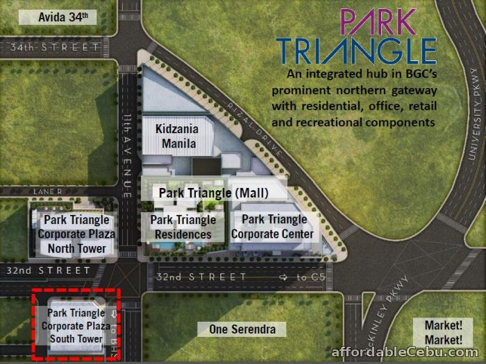 3rd picture of Alveo Park Triangle Tower BGC Offer in Cebu, Philippines