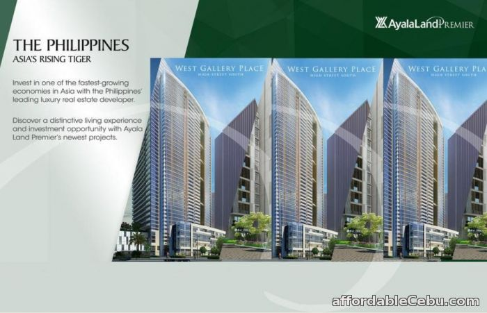 1st picture of West Gallery Place For Sale in Cebu, Philippines