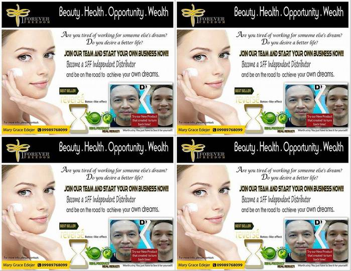 2nd picture of FREE BEAUTY MAKEOVER AND BUSINESS NETWORKING EVENT Announcement in Cebu, Philippines