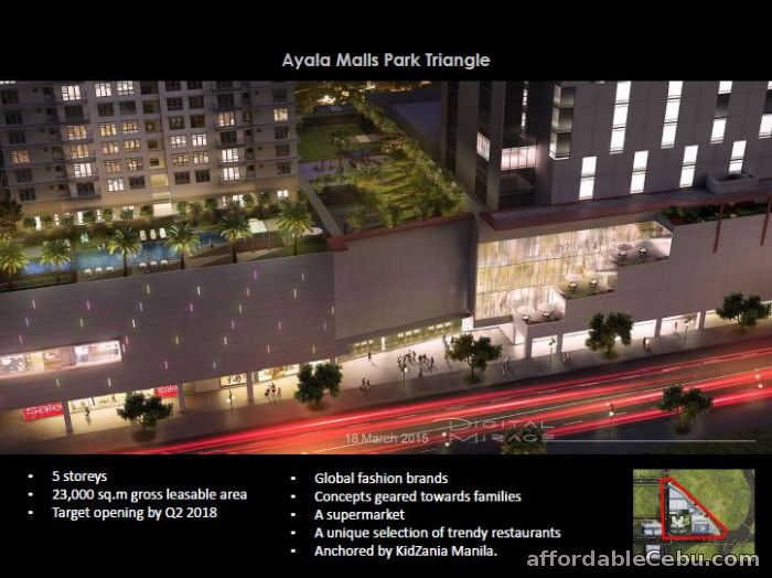 2nd picture of Park Triangle Residences For Sale in Cebu, Philippines