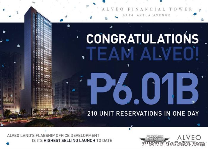1st picture of Alveo Financial Tower Makati For Sale in Cebu, Philippines