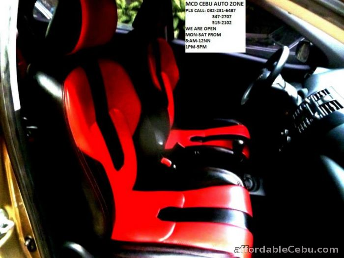 3rd picture of AUTO UPHOLSTERY CEBU*=*PERMANENT CARSEATS UPHOLSTERY-=-LAMINATED DASHBOARD & DOOR SIDINGS-=-CENTER CONSOLE-=-RECEILING--RECARPET===STEERING Looking For in Cebu, Philippines