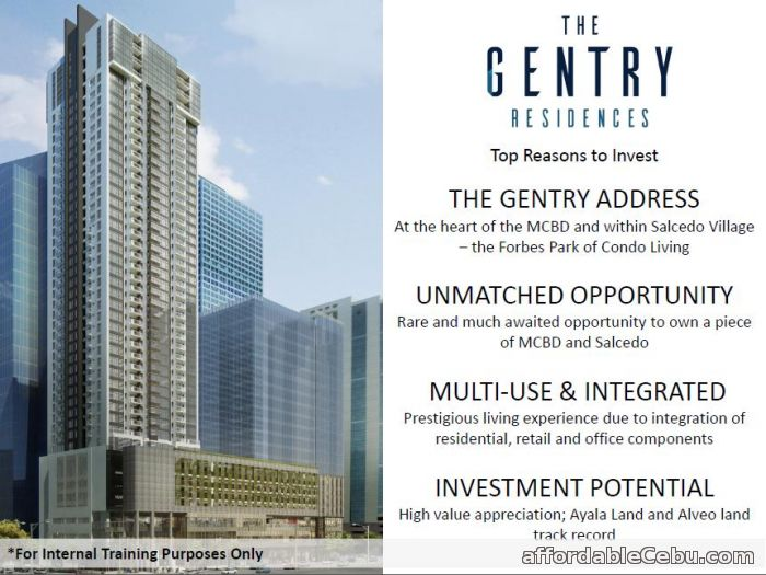 5th picture of The Gentry For Sale in Cebu, Philippines
