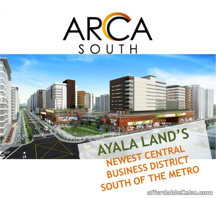 1st picture of The Veranda at Arca South For Sale in Cebu, Philippines