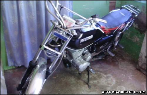 3rd picture of 4 stroke motor bike 150 for 35T only slightly used -10 For Sale in Cebu, Philippines
