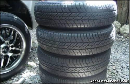 1st picture of Goodyear tire from suzuki alto For Sale in Cebu, Philippines