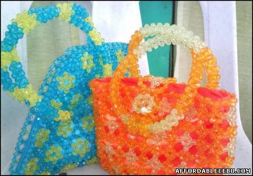 3rd picture of Kikay bags made from crystal beads For Sale in Cebu, Philippines