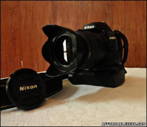 3rd picture of Nikon D3000 2month old For Sale in Cebu, Philippines