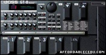 1st picture of BOSS GT-8 Guitar Effects Processor For Sale in Cebu, Philippines