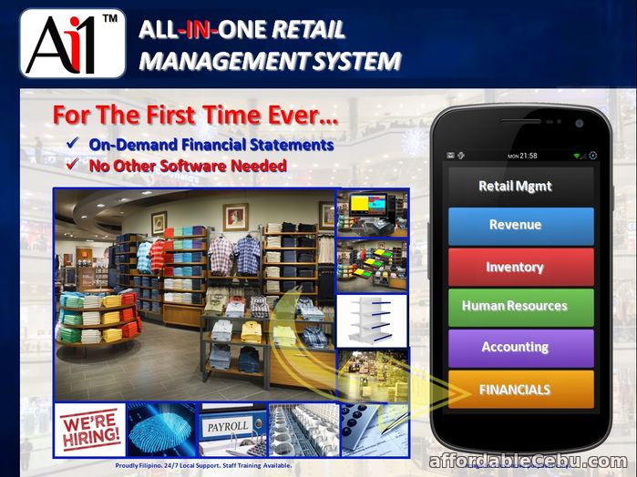 1st picture of Retail Management Software System For Sale in Cebu, Philippines