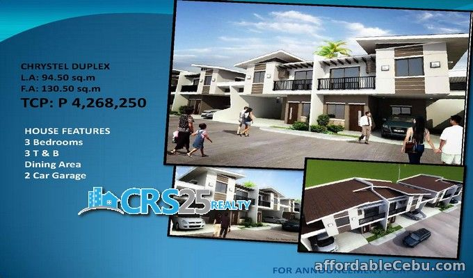 3rd picture of House for sale Duplex, 3 bedrooms in Minglanilla cebu For Sale in Cebu, Philippines