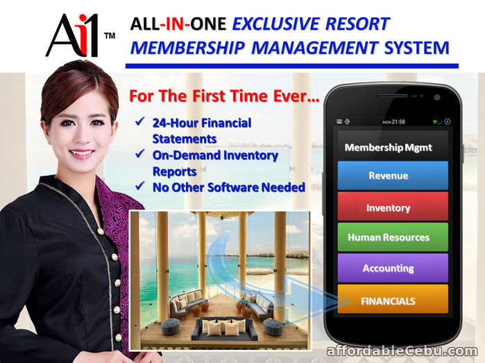 1st picture of Resort Membership Management System For Sale in Cebu, Philippines