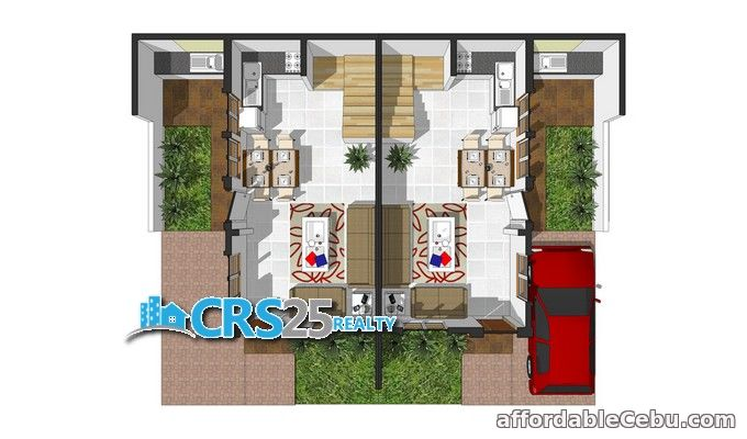 1st picture of 2 storey side attached house for sale in talisay cebu For Sale in Cebu, Philippines