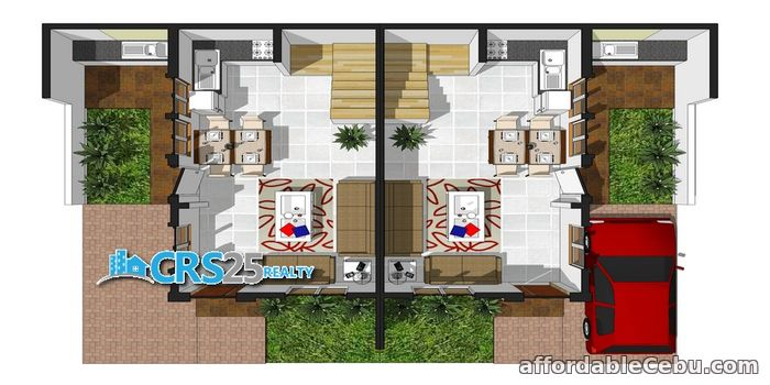 2nd picture of house for sale 3 bedrooms in cebu For Sale in Cebu, Philippines