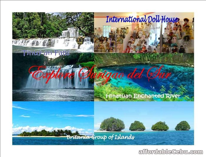 2nd picture of 2d1n Surigao del Sur tour packages 2016 Offer in Cebu, Philippines