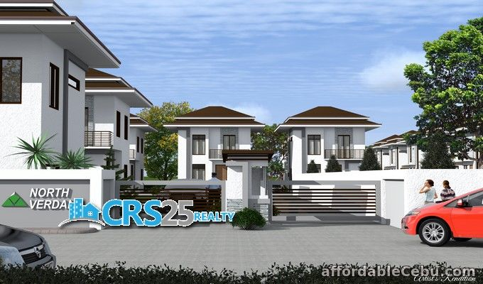1st picture of 2 storey 3 bedrooms single attached house for sale in cebu For Sale in Cebu, Philippines