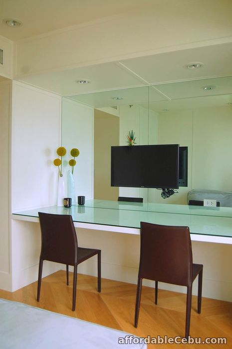 4th picture of FOR LEASE Modern Well-Interiored 3 BR at Amorsolo Square, Rockwell Center For Rent in Cebu, Philippines