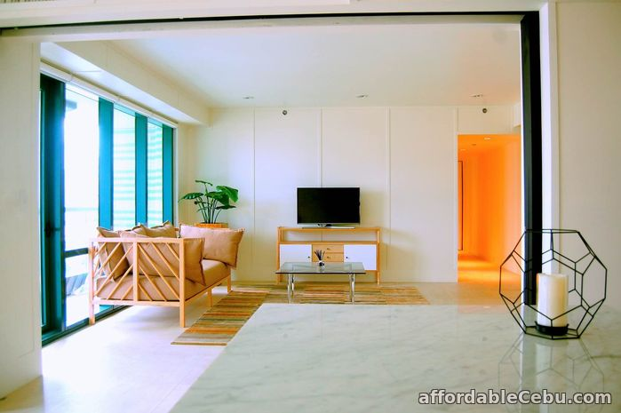 1st picture of FOR LEASE Modern Well-Interiored 3 BR at Amorsolo Square, Rockwell Center For Rent in Cebu, Philippines