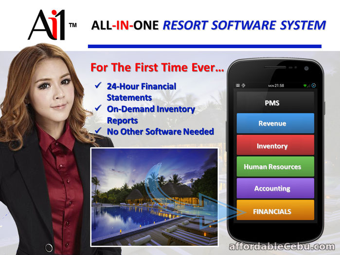 1st picture of Resort Property Management Software For Sale in Cebu, Philippines