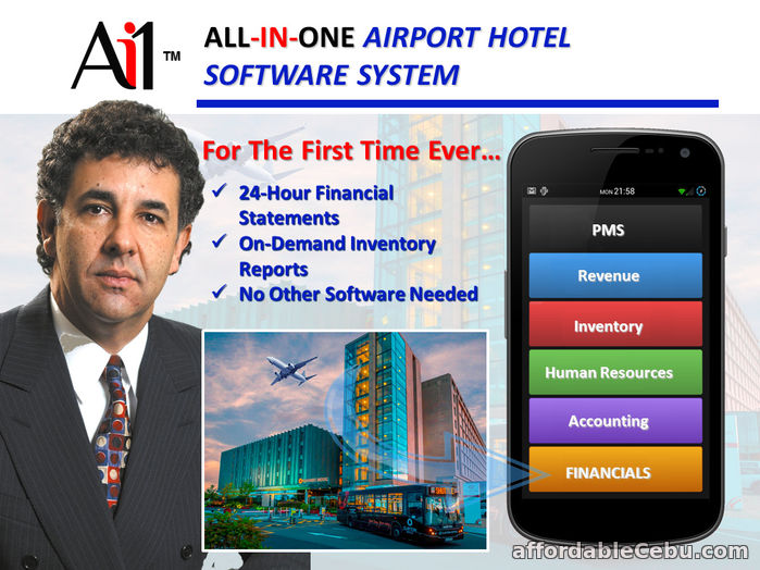 1st picture of Airport Hotel Software Philippines For Sale in Cebu, Philippines