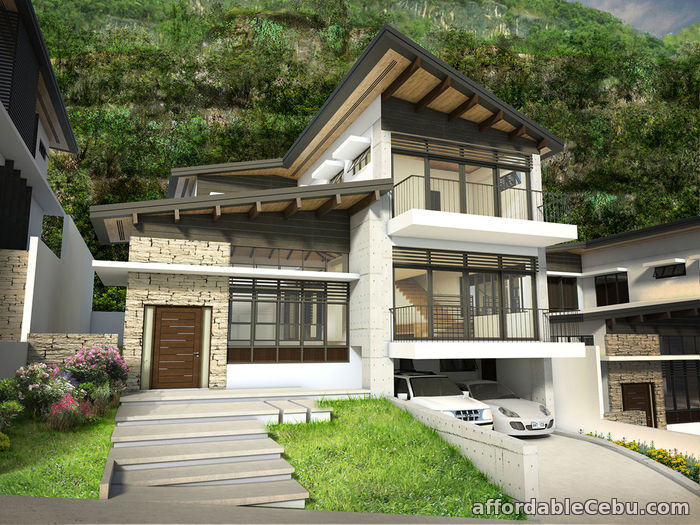 2nd picture of Overlooking house for sale with 3 Car garage in Cebu city For Sale in Cebu, Philippines
