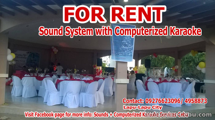3rd picture of Videoke For Rent Lapu-Lapu City For Rent in Cebu, Philippines