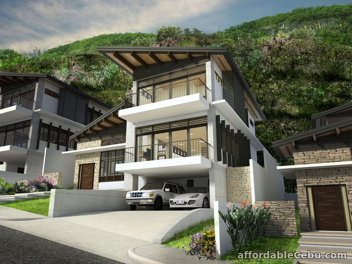 1st picture of Overlooking house for sale with 3 Car garage in Cebu city For Sale in Cebu, Philippines