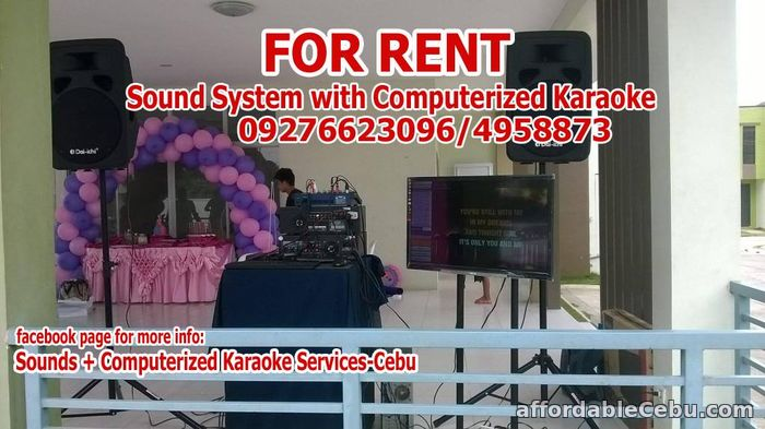 3rd picture of Sounds System For Rent Lapu-Lapu City For Rent in Cebu, Philippines