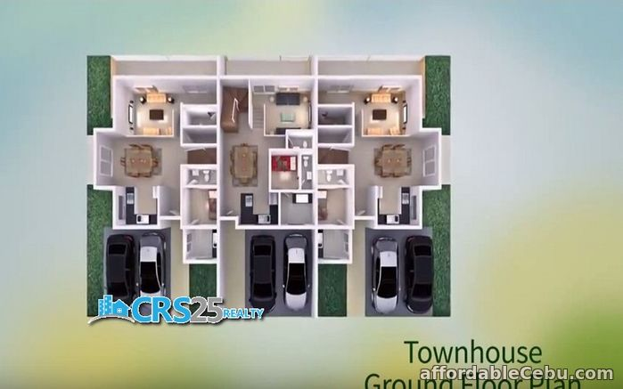 4th picture of Townhouse for sale 3 bedrooms with swimming pool in cebu For Sale in Cebu, Philippines