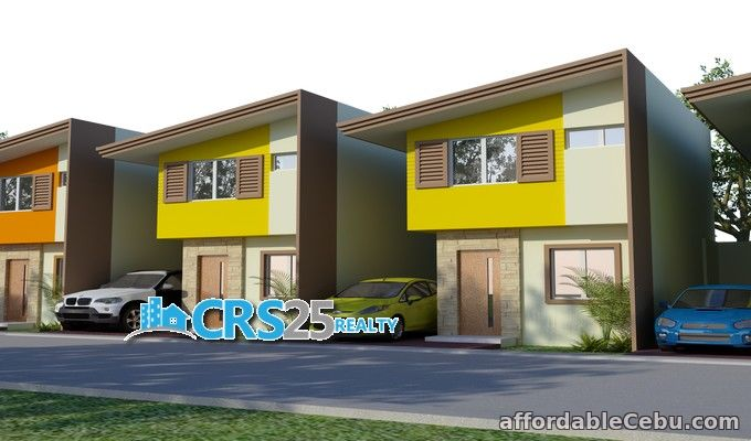 1st picture of 3 bedroom house for sale 2 storey side attached For Sale in Cebu, Philippines