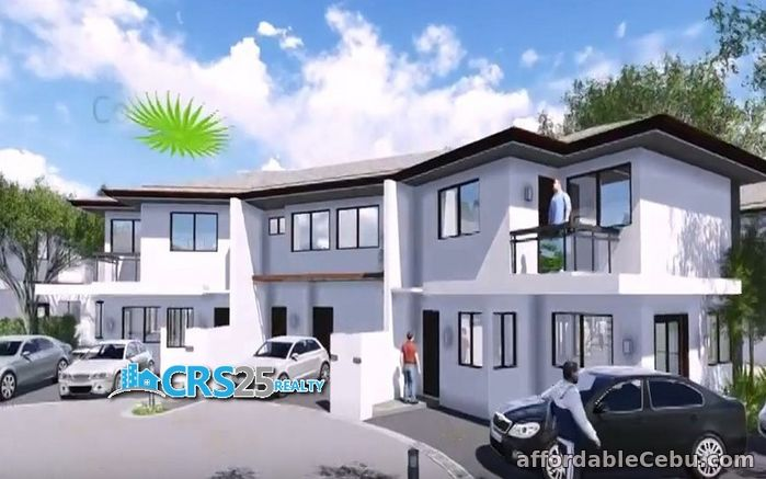 1st picture of Townhouse for sale 3 bedrooms with swimming pool in cebu For Sale in Cebu, Philippines