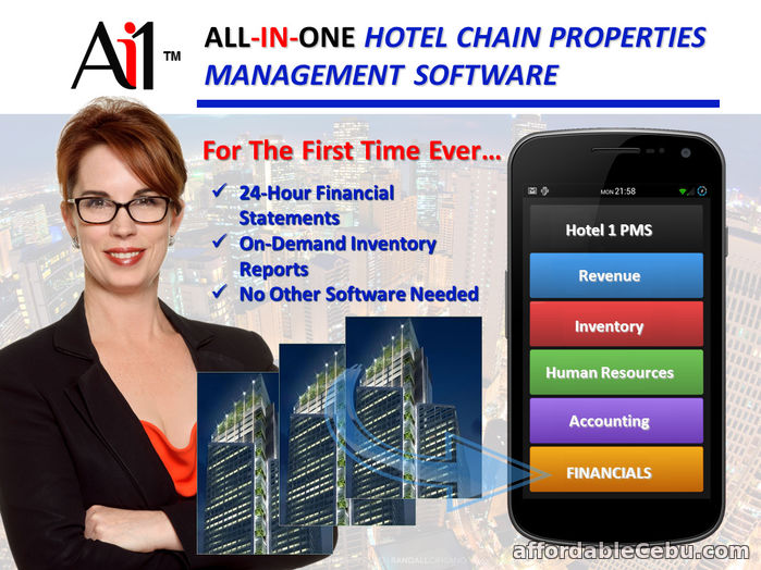 1st picture of Hotel Chain Property Management System For Sale in Cebu, Philippines