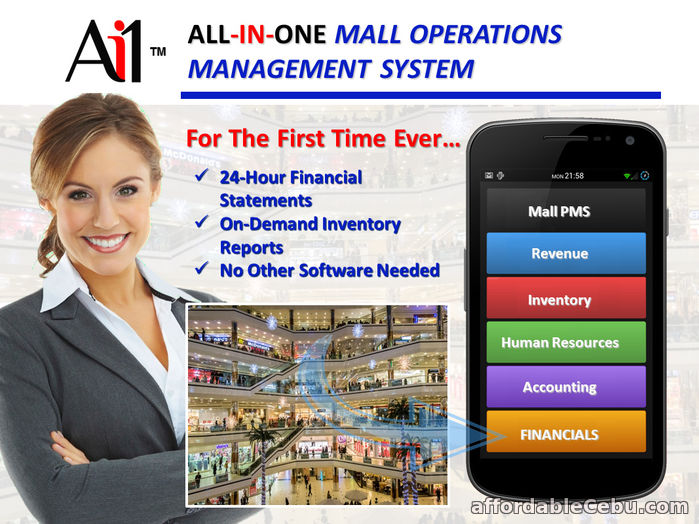 1st picture of Mall Operations Management System For Sale in Cebu, Philippines