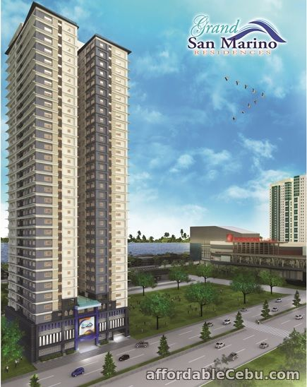1st picture of Grand San Marino near Robinsons Galleria and SM City (7k/mo) For Sale in Cebu, Philippines