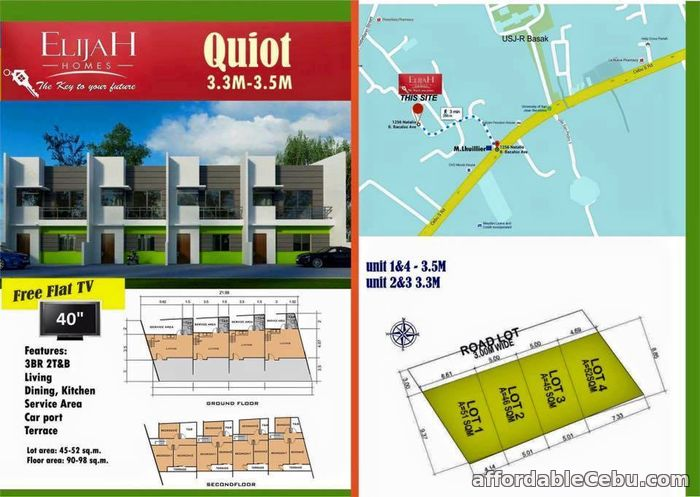 1st picture of Elijah Homes in Quiot Pardo 3.3M For Sale in Cebu, Philippines