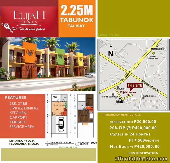 2nd picture of Elijah Homes inTabunok Talisay City Cebu 2.250M For Sale in Cebu, Philippines