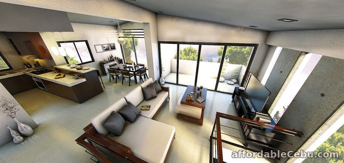 2nd picture of 3 Level Overlooking House for sale in cebu city For Sale in Cebu, Philippines