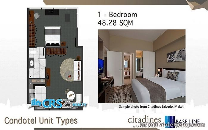 5th picture of Baseline Center Citadines Condotel in Cebu For Sale in Cebu, Philippines