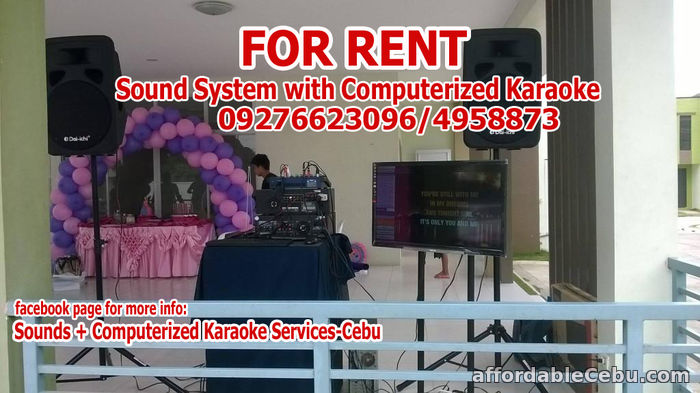 4th picture of Videoke For Rent Cebu For Rent in Cebu, Philippines