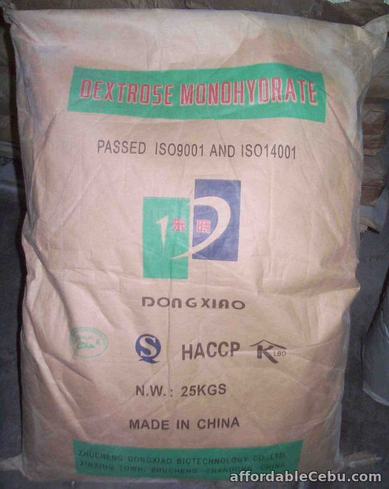1st picture of Dextrose MonoHydrate Supplier For Sale in Cebu, Philippines