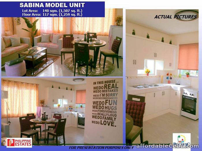 2nd picture of house for sale in pacific grand villas sabina model For Sale in Cebu, Philippines