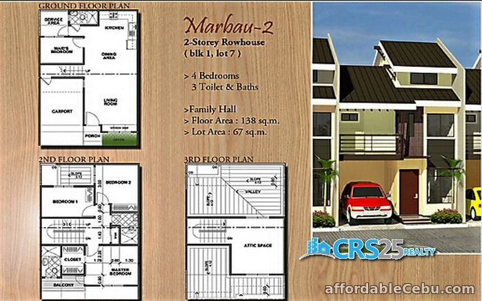 5th picture of Oakwood Subdivision House and Lot for Sale in Mandaue Cebu For Sale in Cebu, Philippines