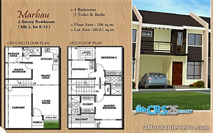 4th picture of Oakwood Subdivision House and Lot for Sale in Mandaue Cebu For Sale in Cebu, Philippines