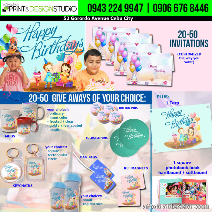 4th picture of Prints - Invitations, Corporate or Event needs, Advertising, Occasional Giveaways Announcement in Cebu, Philippines