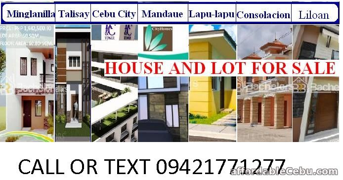 1st picture of House and Lot for sale in CEBU For Sale in Cebu, Philippines