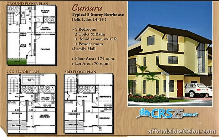 5th picture of 3 storey townhouse for sale in mandaue ctiy For Sale in Cebu, Philippines