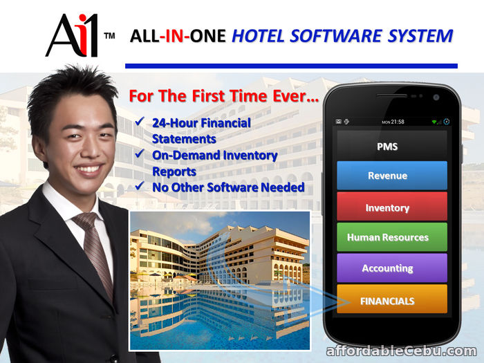 1st picture of Hotel Property Management Software For Sale in Cebu, Philippines