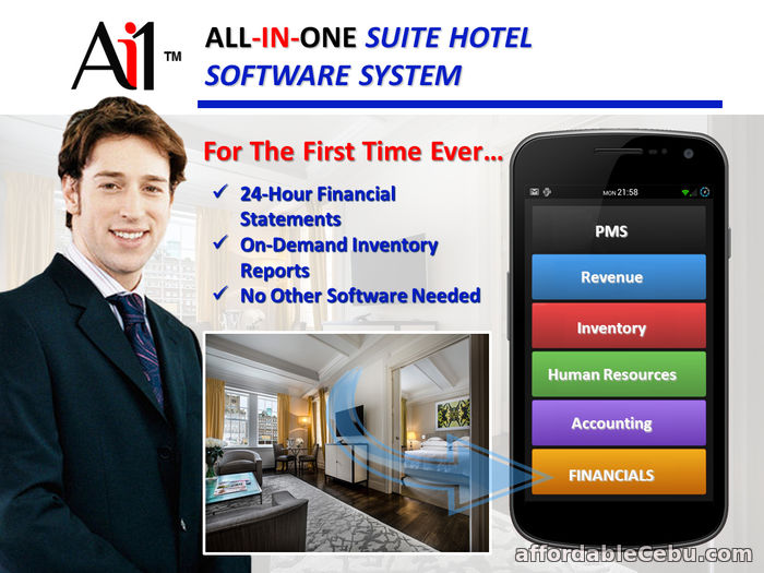1st picture of Suite Hotel Software System For Sale in Cebu, Philippines