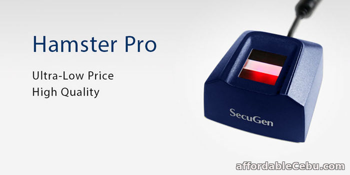 1st picture of Secugen Hamster Pro (HUPX™) Biometric Solution For Sale in Cebu, Philippines